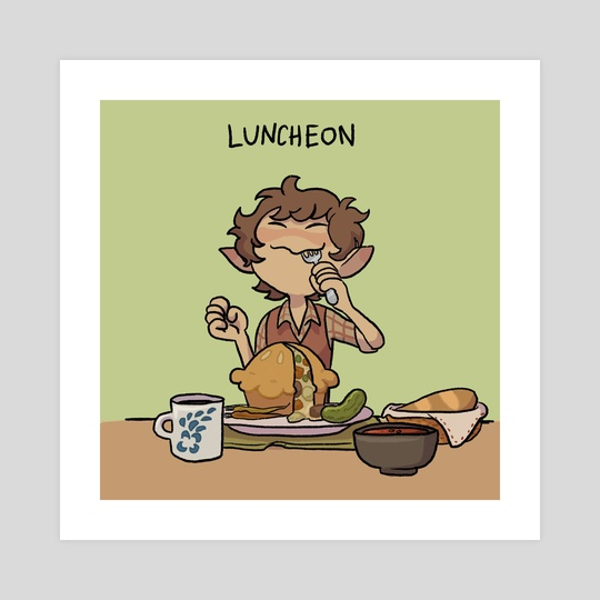 Luncheon by Charlie Nagelhout