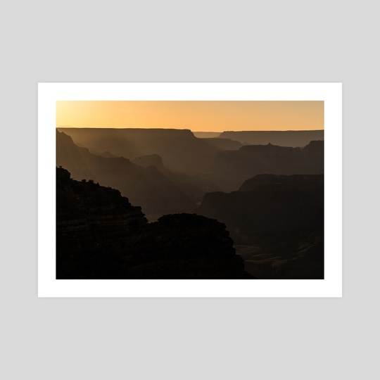 grand canyon silhouettes by Lauren Scornavacca