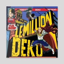 "Deku & Lemillion ""Super What"" - Acrylic by Joey Sifuentes"