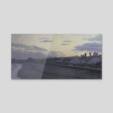 Santa Cruz - Acrylic by Jesse Hitchens