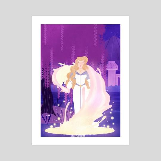 the swan princess by Lola Vagabonde