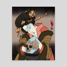 Geisha Yokai - Canvas by NME IS YOU