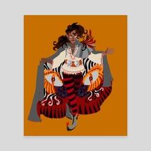 Mephistopheles - Canvas by Q Lesaule