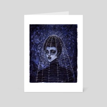 Witch - Art Card by Esther  Coonfield