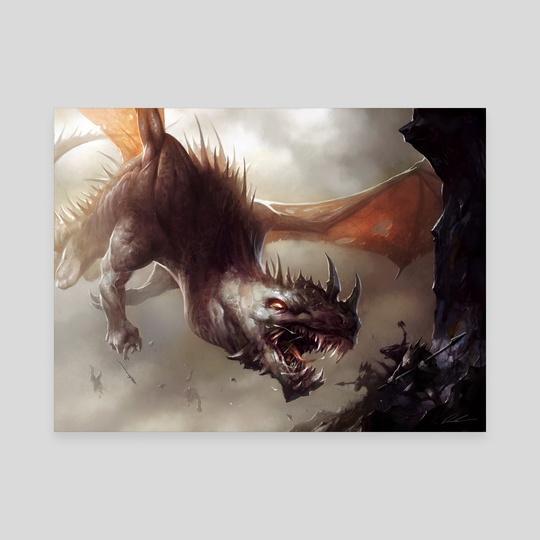 "Preyseizer Dragon by Mike ""Daarken"" Lim"