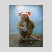 Ratty - Acrylic by Jeremy Norton Artist