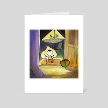 Trick or Treat - Art Card by Mark Eberhardt