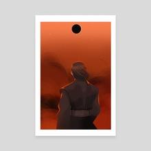 Anakin's eclipse - Canvas by Daria Romanova