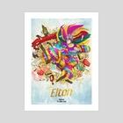 Elton John - Art Print by Xav DRAGO