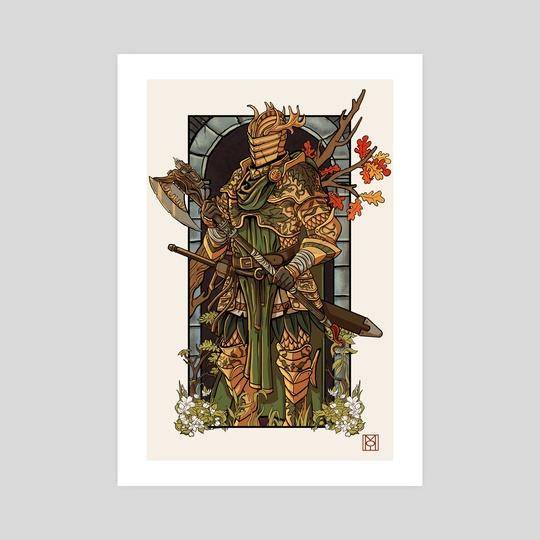 Bercilak: The Green Knight by Moe Balinger