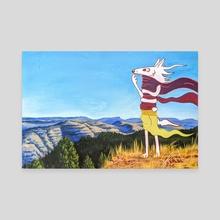 No Longer Home - Canvas by Maranda Cromwell