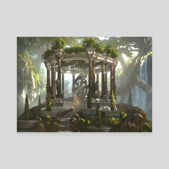 Temple of Plenty by Chris Ostrowski