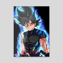 Time Patroller Ui Goku  - Acrylic by Decial
