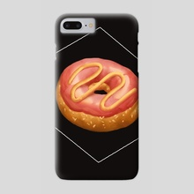 donut - Phone Case by lois lynn