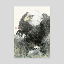 Eagle - 40 - Canvas by River Han