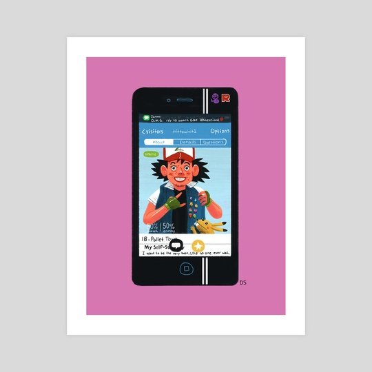 Ash OKCupid by Daniel Shaffer
