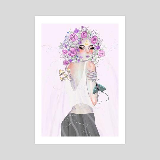 Floral Veil by Milky Melon