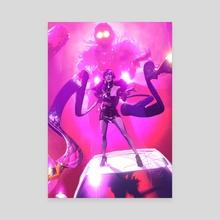 K/DA Evelynn - Canvas by Xteve Abanto