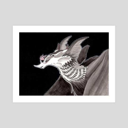Bat Dragon by Amanda Blatch