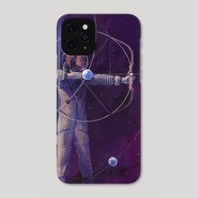 Lagrange Points - Phone Case by Rebecca Mock