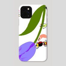 Tulip IV - Phone Case by Subin Yang