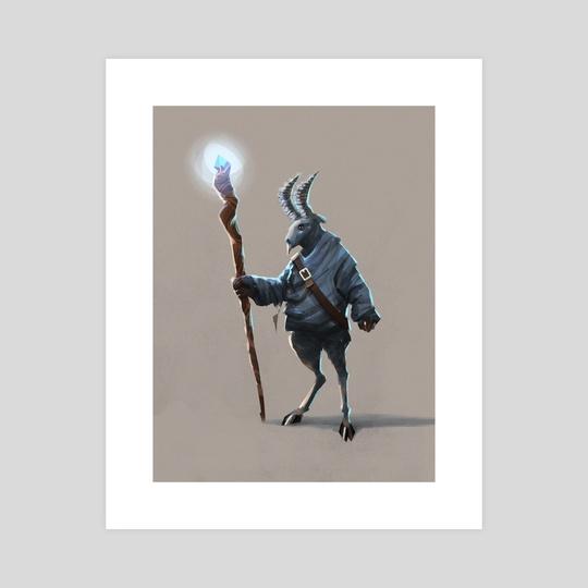 Goat Warlock by Matthew Eng