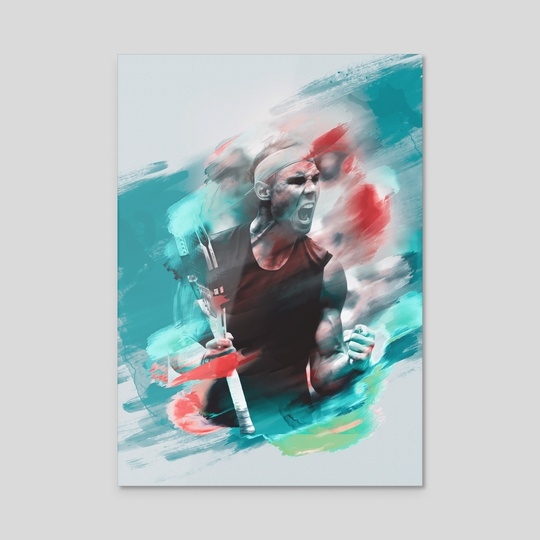 Nadal painting by Visuals Artwork