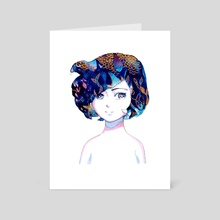 Diver - Art Card by Meyoco