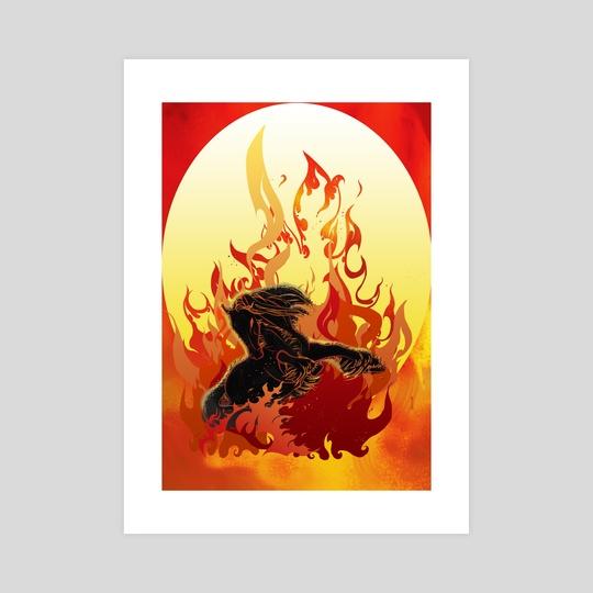 Firehorse by Alex Rikkert