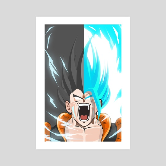 SSGB Vegeto X Gogeta  by Kode Subject