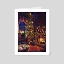 Seasons Greetings 2020 - Art Card by Miranda Moorhead