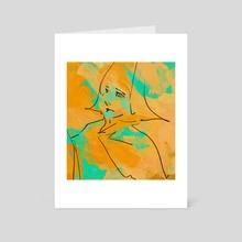 Huevember 05 - Art Card by Samuel Berry