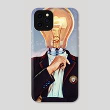 Brainiac - Phone Case by Trey Patterson