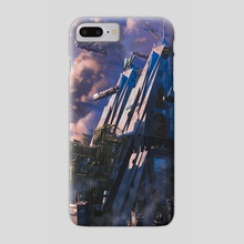 """Android Netrunner """"Builder of Nations"""" - Phone Case by Emilio Rodríguez"""