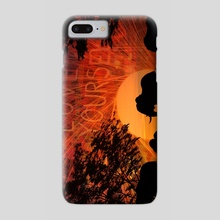 Love Yourselephants - Phone Case by Kyle Willis