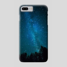 Milky way - Phone Case by Kimberly AF