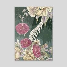 Spine Rose - Acrylic by Glummingbird