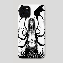 The Vampire - Phone Case by Hypocrite.ink (Sean Parker)
