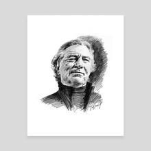 Robert De Niro - Canvas by Dafina Dervishi