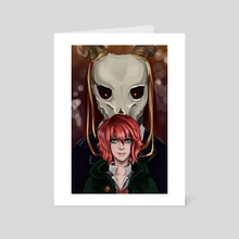 Ancient Magus - Art Card by Dannielle McGowan