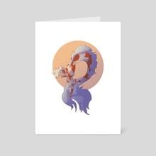 Koimaid - Art Card by Allison McGrath