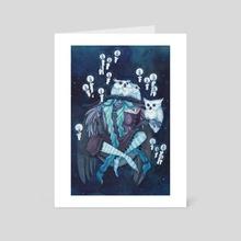 Cicuma Noctis - Art Card by Tiffany England