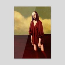 Tears of Blood - Acrylic by salem bahron