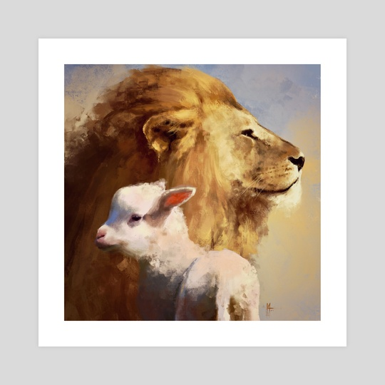 Lion and The Lamb by Kat Marie