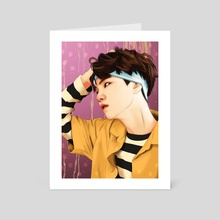 SUGA SUMMER - Art Card by Swastika Larasati