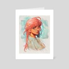 Strawberry Stars - Art Card by Lydia Elaine
