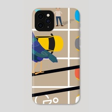 Thief - Phone Case by Michal Eyal