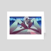 IN-SHADOW: Entertain - Art Card by Lubomir Arsov