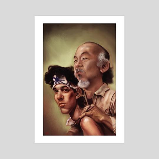 The Karate Kid by Rafael Rivera
