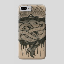 Lurking - Phone Case by Alice Holleman